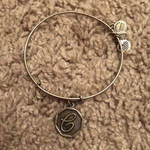 Alex and Ani Initial bangle bracelet